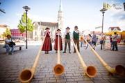 Alphornbläser Fête de la Musique Meiningen