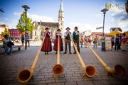 Fête de la Musique Meiningen mit Alphornbläsern