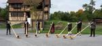 Alphornbläser Hessische Rhön, Freilandmuseum fladungen, Alphornbläser Fladungen