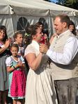 Alphornbläser Hessische Rhön, Hochzeit Jonas und Maria Römmelt