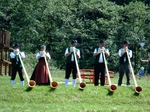 Alphornbläser Bayerische Rhön, Familienfeier, Ständchen, Silberhochzeit, Würzburger Haus
