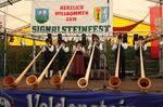 Alphornbläser Bayerische Rhön, Steinfest, Oberfranken