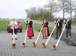 Alphornbläser, Gerodaer Alphornbläser, Rhöner Alphornbläser, Ingrid Schubert