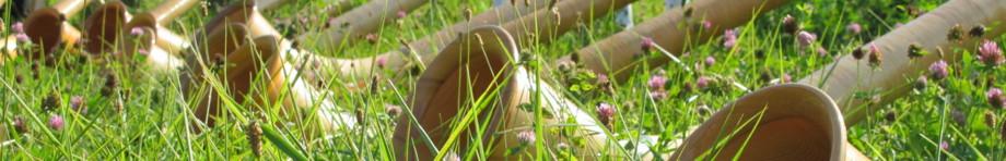 Alphornbläser aus dem Dreiländereck Rhön